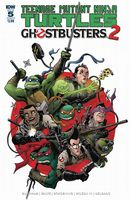 Teenage Mutant Ninja Turtles - Ghostbusters 2 #5 - Cover B